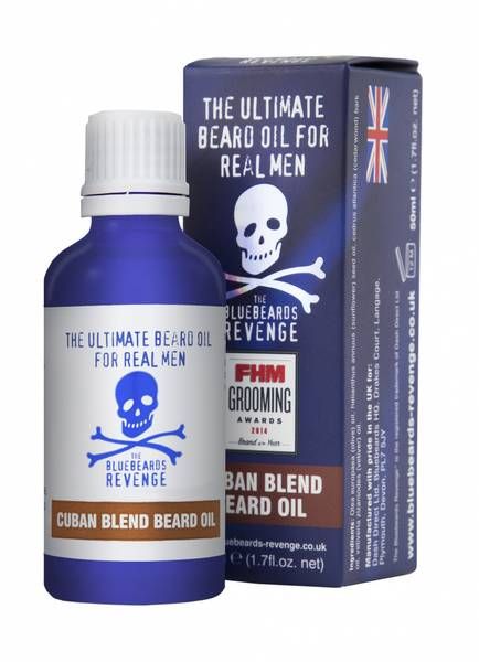 The Bluebeards Revenge Cuban Blend Skjeggolje